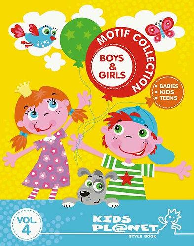 Kids Planet Motif Collections Boys & Girls Vol.4
