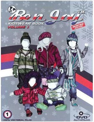 BenJoy Kidswear Book Vol. 1 incl. DVD