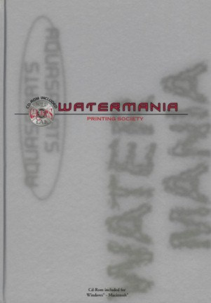 Watermania (incl. CD-Rom) printing society