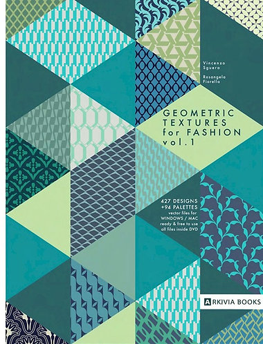 Geometric Textures for fashion vol.1 by Arkiva