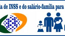 Fixados os valores da Tabela de INSS e do salário-família para 2016