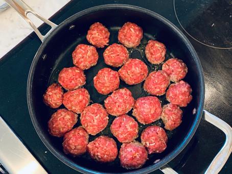Sweet & Sour Porcupine Meatballs