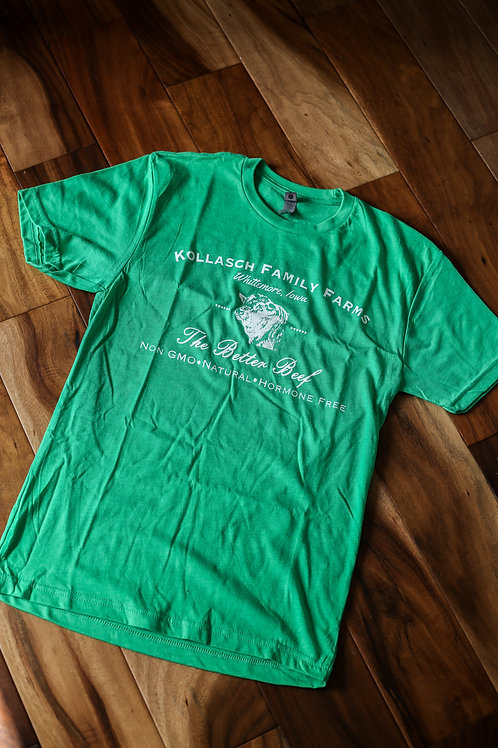 Kollasch Family Farms T Shirt (Green)