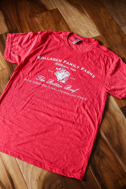 Kollasch Family Farms T Shirt (Red)