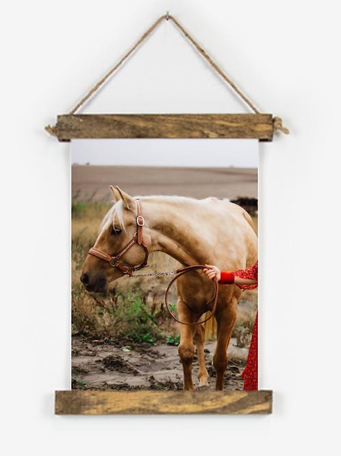 Blondie 8x12 Hanging Canvas