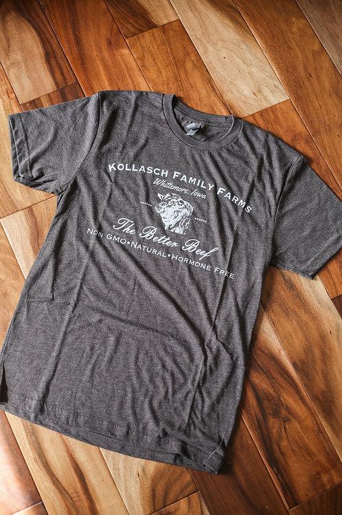 Kollasch Family Farms T Shirt (Brown)