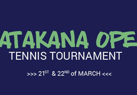 Matakana Open Tennis Tournament