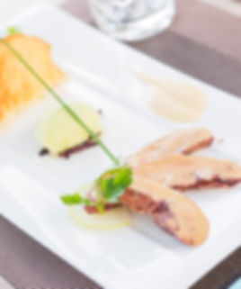 foie gras mi-cuit petit bouchon restaurant royan