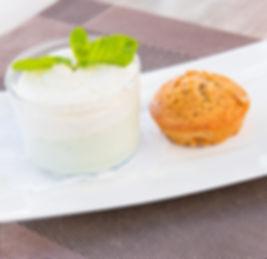 dessert pistache petit bouchon restaurant royan