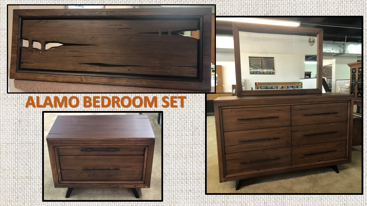 ALAMO BEDROOM SET