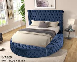 EVA BED_ NAVY BLUE