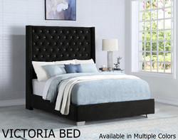 VICTORIA BED AVAILABLE IN MULTIPLE COLOR