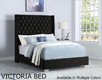 VICTORIA BED AVAILABLE IN MULTIPLE COLORS
