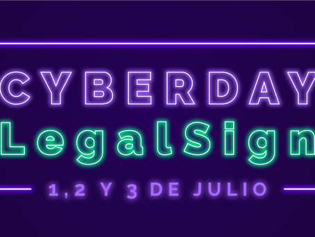 CYBERDAY LegalSign exclusivo pymes