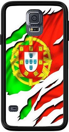 COQUE SAMSUNG PORTUGAL DRAPEAU DECHIRÉ
