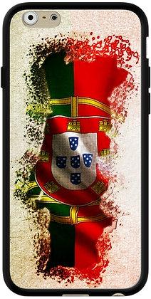 COQUE IPHONE PORTUGAL FOND DRAPEAU