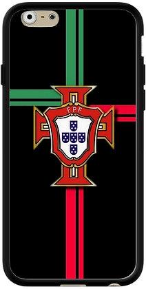 COQUE IPHONE PORTUGAL FOND NOIR