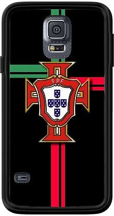 COQUE SAMSUNG PORTUGAL FOND NOIR