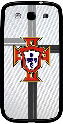 COQUE SAMSUNG PORTUGAL CARBONE BLANC