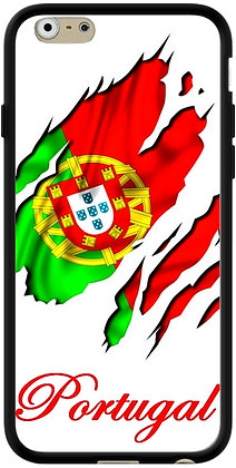 COQUE IPHONE PORTUGAL DRAPEAU DECHIRÉ