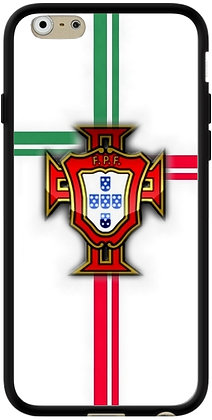 COQUE IPHONE PORTUGAL FOND BLANC