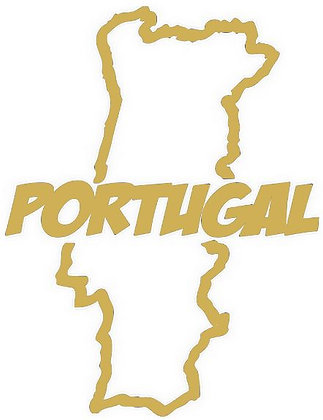 STICKERS CARTE PORTUGAL PERSONNALISABLE