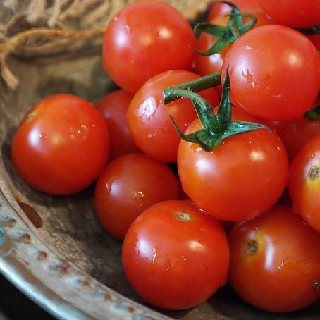 סלט עגבניות שרי מוקפצות