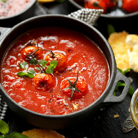מרק עגבניות חורפי