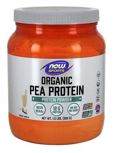 Pea Protein, Organic Creamy Vanilla Powder