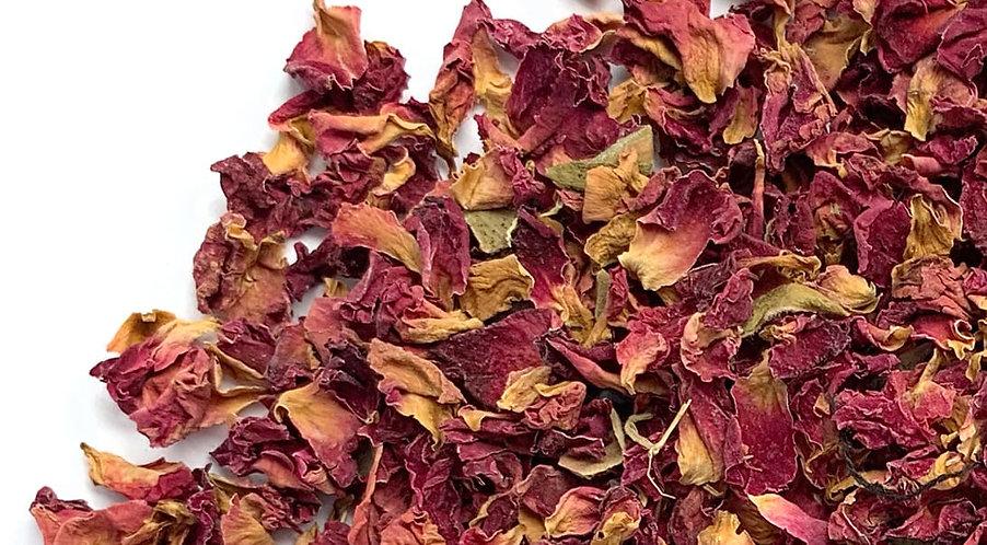 Rose Petals (Red), 1/4 lb