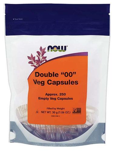"""Empty Capsules, Vegetarian, Double """"00"""""""
