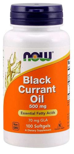 Black Currant Oil 500 mg Softgels