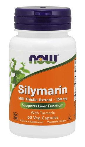 Silymarin Milk Thistle Extract 150 mg Veg Capsules