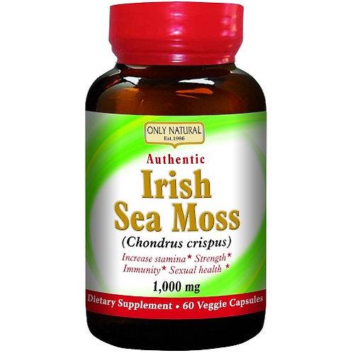 Only Natural Irish Sea Moss Capsules