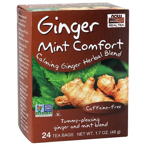 Ginger Mint Comfort Tea