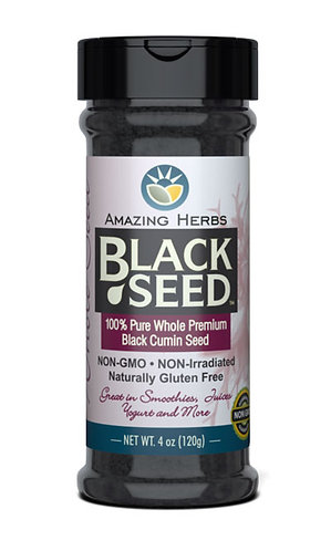 Amazing Herbs Black Seed Whole Seed 4oz
