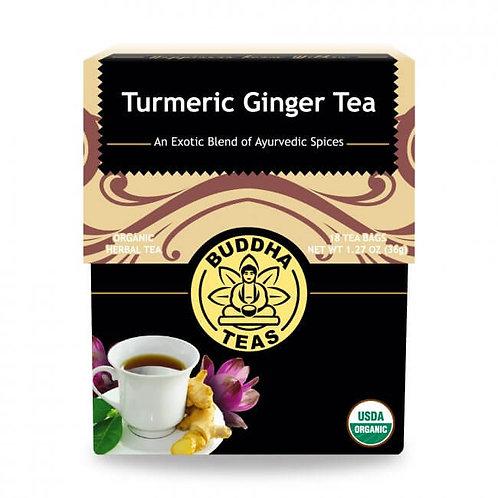 Organic Turmeric Ginger Tea