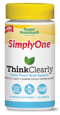 SimplyOne Think Clearly 30 tab