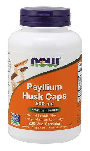 Psyllium Husk 500 mg Veg Capsules