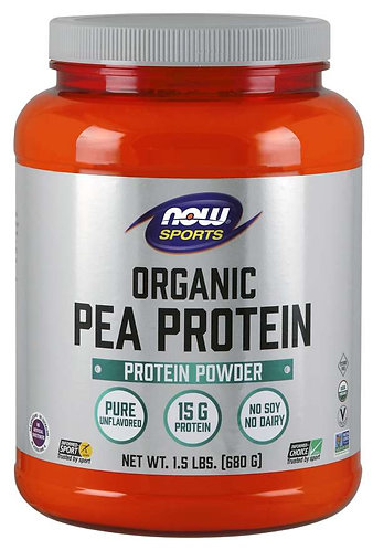 Pea Protein, Organic Powder