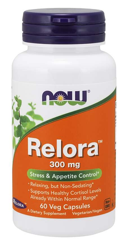 Relora™ 300 mg Veg Capsules- 60 ct