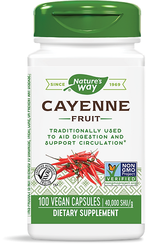Cayenne Pepper Caps