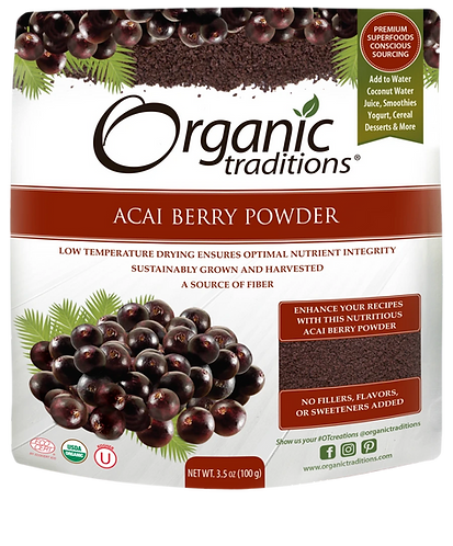 Organic Acai Berry Powder