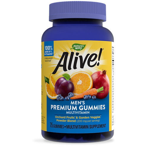 Alive!® Premium Men's Gummy Multivitamin