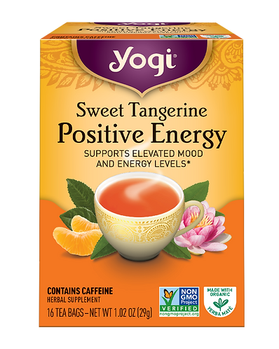 Sweet Tangerine  Positive Energy Tea