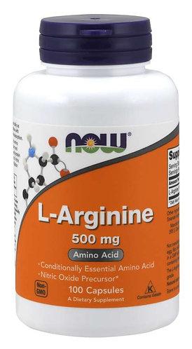 L-Arginine 500 mg Capsules