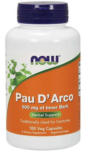 Pau D'Arco 500 mg Veg Capsules