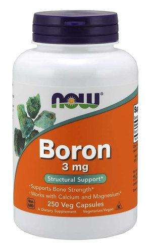Boron 3 mg Veg Capsules, 250 ct