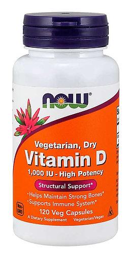 Vitamin D 1000 IU Dry Veg Capsules