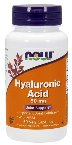 Hyaluronic Acid with MSM Veg Capsules